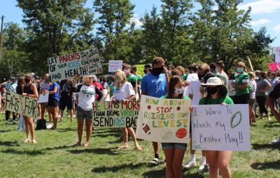 School protest 3