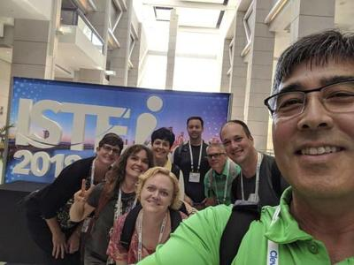 Concord school officials attend ISTE Conference and Expo