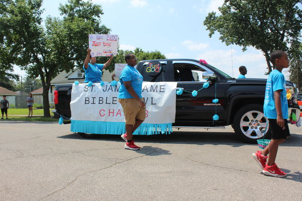Black Expo parade almost doubles in size