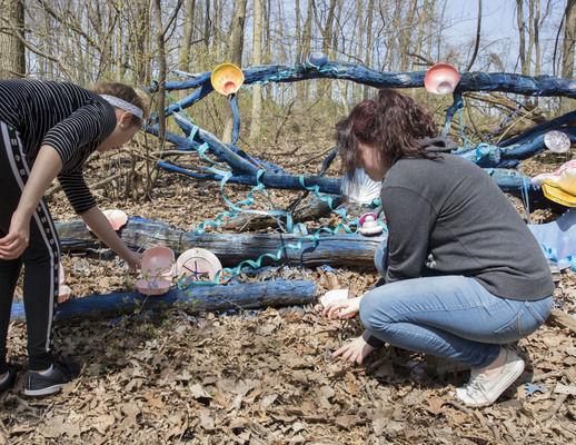 Merit Learning Center students develop sensory trail for LoveWay horseback rides