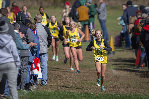 Northridge yellow dominates girls sectional race