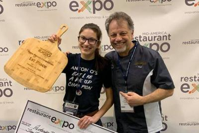 Teen wins Midwest pizza title