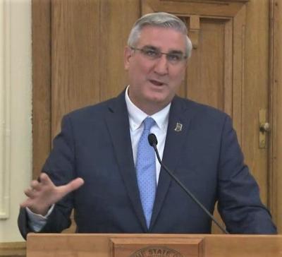 Indiana governor mandates masks