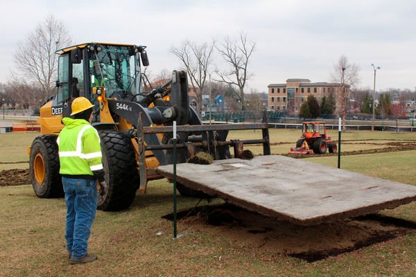 Work begins on Central Park overhaul