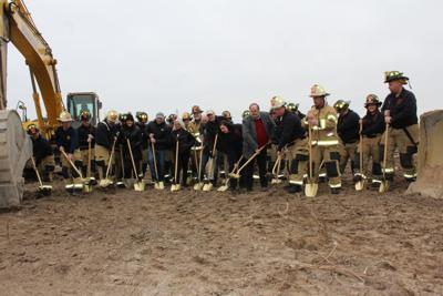 Cleveland Township breaks ground on fire station