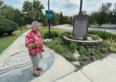 Bill Firstenberger on History Hike