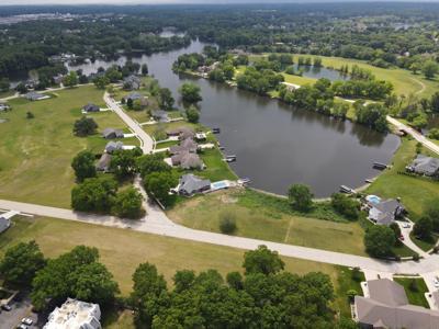 Lexington Landing duplex proprosal drone
