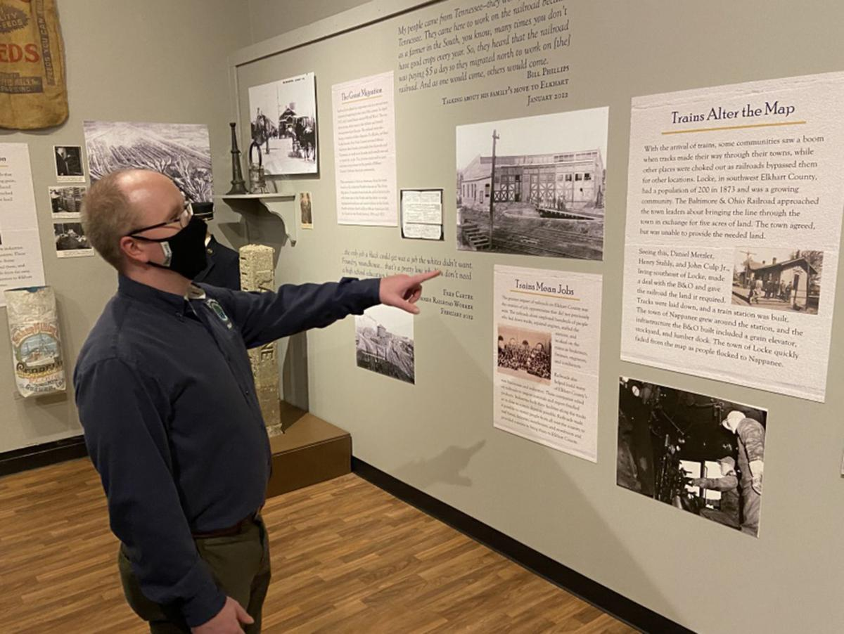 Patrick McGuire, Elkhart County Historical Museum, Making a place