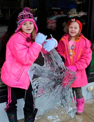 Festival features fire, ice