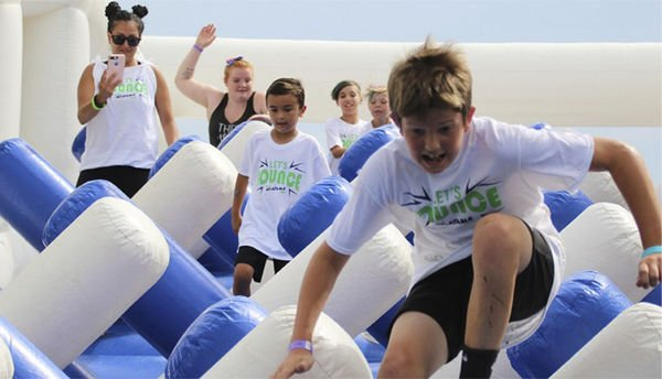 The Great Inflatable Race coming to Goshen