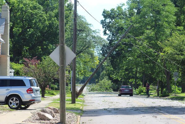Power out, trees down, property damaged after storm