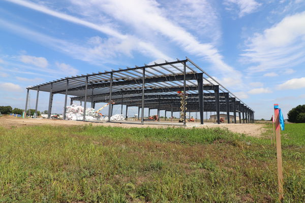 Goshen manufacturing firm is constructing plant for its neighbor