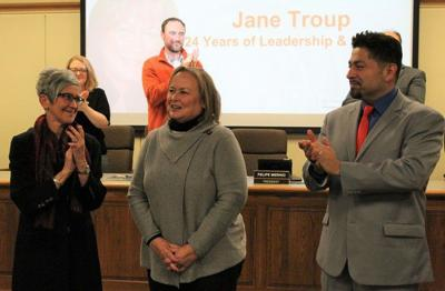 Goshen Schools recognize outgoing board member
