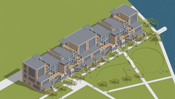 Construction begins on high-end condos
