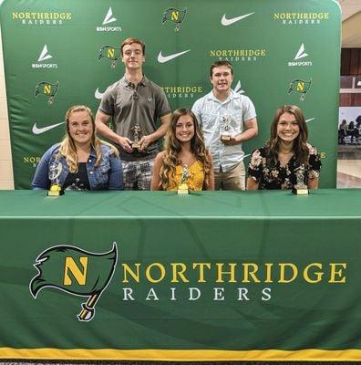 Northridge honors spring athletes