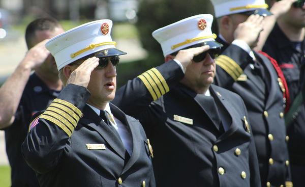 Saluting service and sacrifice