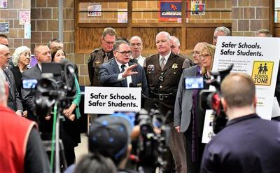 Proposal: Protect kids with more school police, counselors