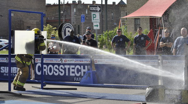 First responders show off skills