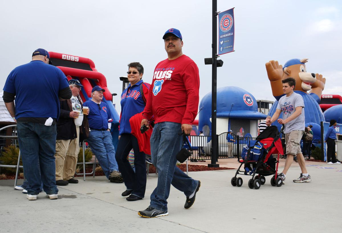 Rain stays away during game and fans come out in big numbers at South Bend Cubs opener