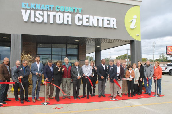 New visitors center opened in Elkhart