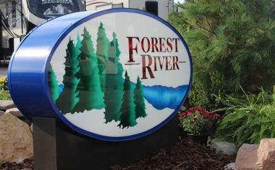 Forest River sign