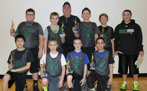 Concord Developmental Boys Basketball League crowns champions
