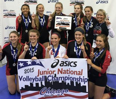 Krush Volleyball Club captures national title in Chicago
