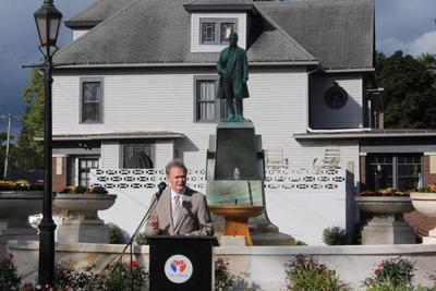 Iconic Beardsley fountainrestored to former glory