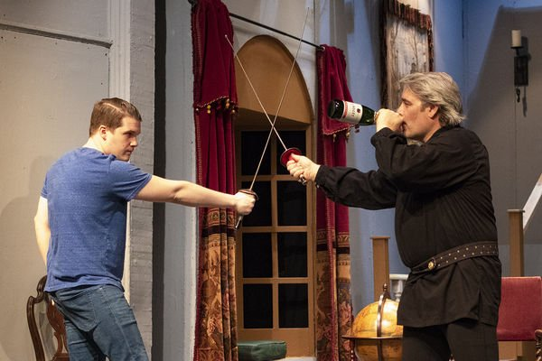 Comedy at the bard's expense in Elkhart Civic Theatre's 'I Hate Hamlet'