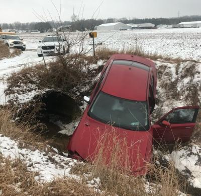 Crash victims trapped