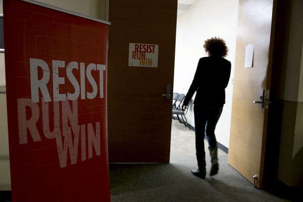 U.S. sees surge in women interested in running for office