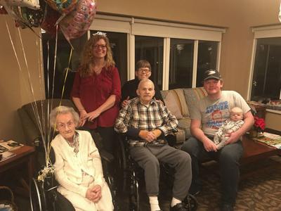 Hubbard Hill resident celebrates 108 years