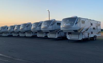 Alliance RV produces 500th fifth wheel