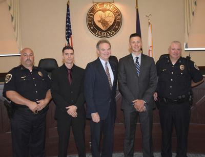 Two new officers join Elkhart police