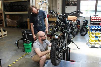 Janus Motorcycles Halcyon 450 build 1