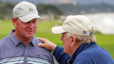 Nicklaus thrilled to be playing at Senior Open
