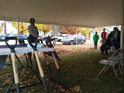 Habitat for Humanity groundbreaking