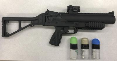 Elkhart police take less lethal launchers for use