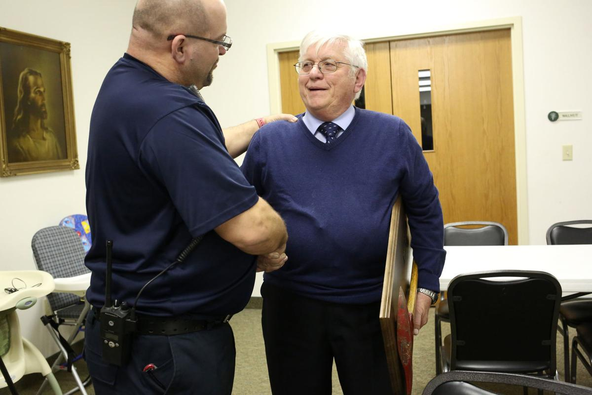 Firefighter Emil Broni retires from New Paris EMS after 37 years of service
