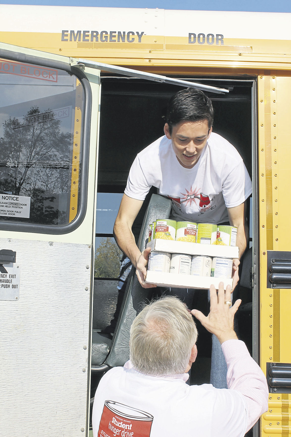 Concord High School students offer helping hand, donate food to Church Community Services