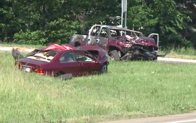 1 dead, another airlifted from crash on U.S. 12 in Michigan northeast of Simonton Lake