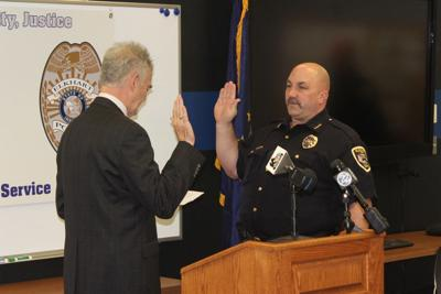 Chris Snyder swearing in