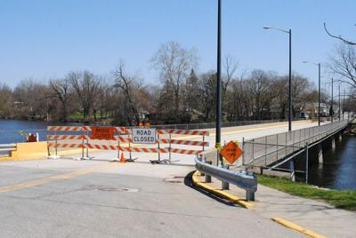 Why is Sherman Street Bridge still closed?