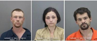 Three auto theft suspects
