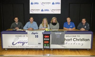 ECA's McKibbin signs to play softball at Bethel