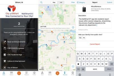 MyElkhart 311 app