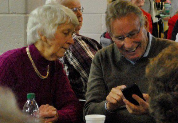 Seniors celebrate Christmas