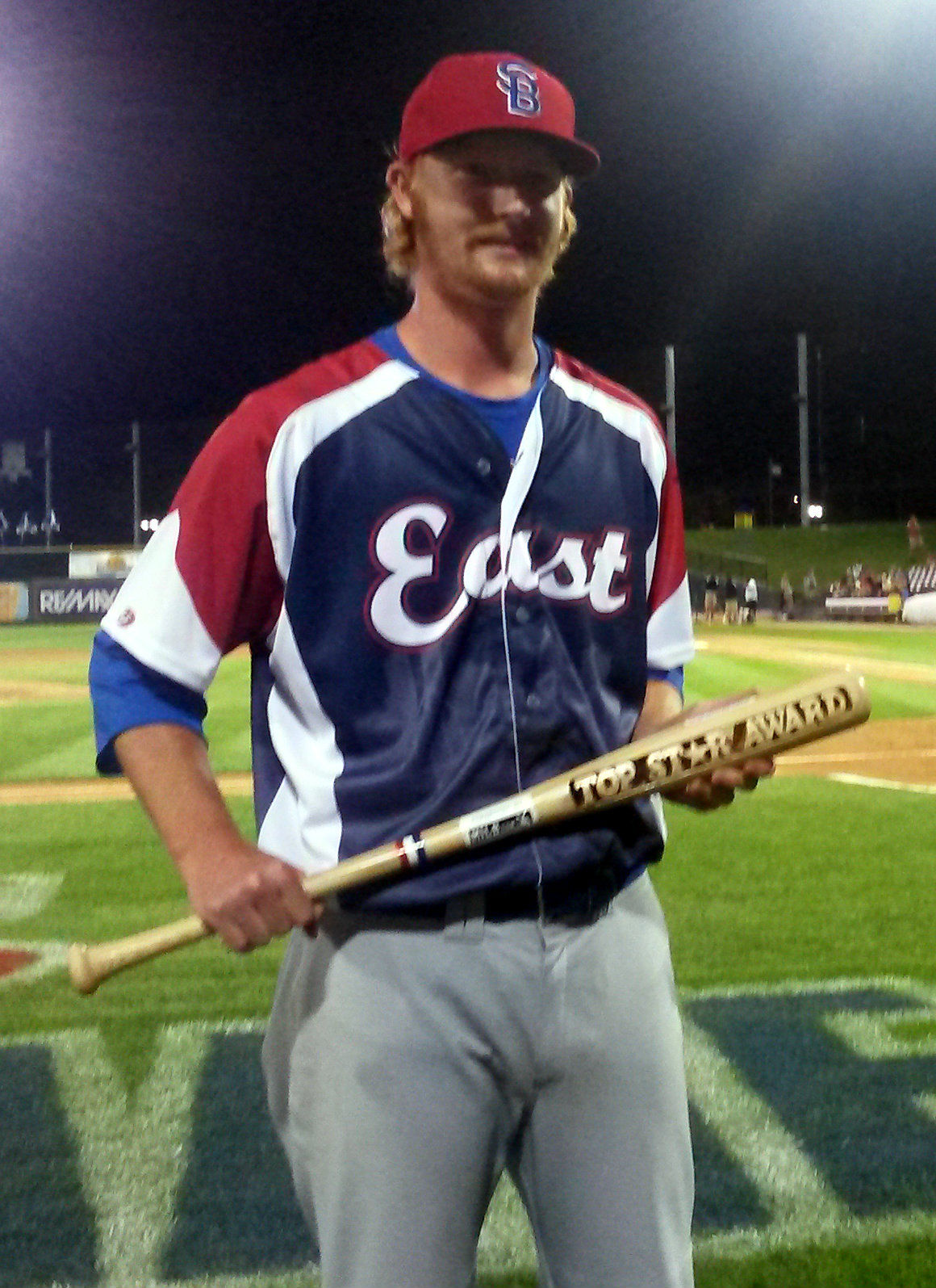 South Bend Cub Jeremy Null named MVP of Midwest League All-Star Game