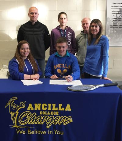 Jimtown's Hunter Price signs with Ancilla College