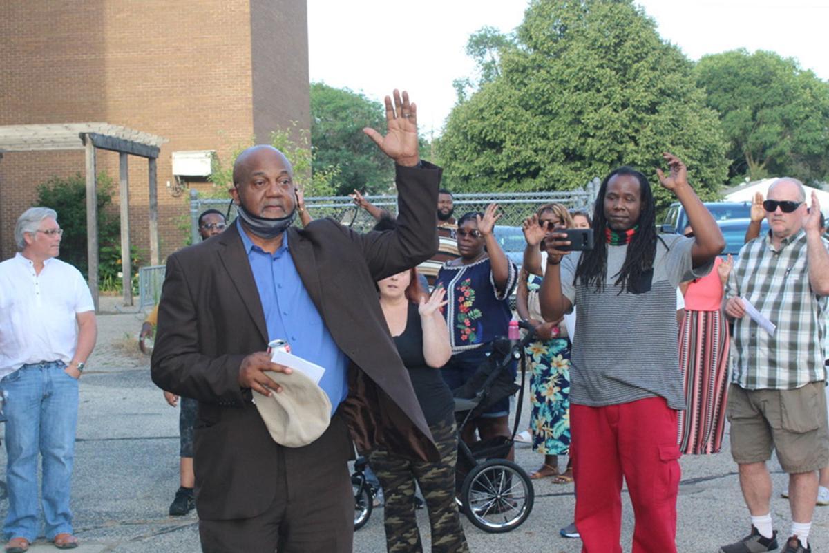 Rod Roberson stop the violence rally 07-30-2021